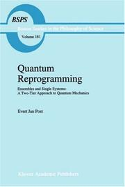 Cover of: Quantum reprogramming