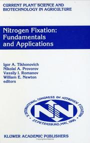 Cover of: Nitrogen fixation