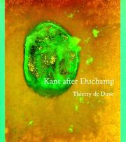 Cover of: Kant after Duchamp