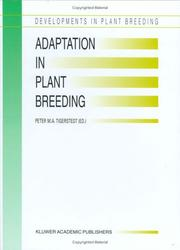 Cover of: Adaptation in plant breeding
