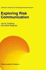 Cover of: Exploring risk communication