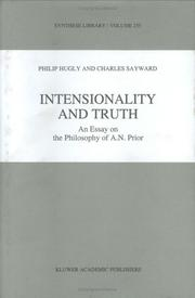 Cover of: Intensionality and truth