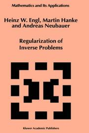 Regularization of inverse problems by Heinz W. Engl
