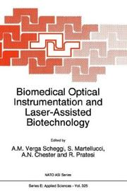 Cover of: Biomedical optical instrumentation and laser-assisted biotechnology |