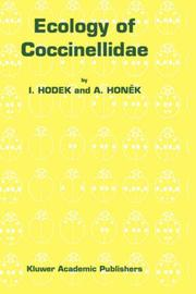 Cover of: Ecology of Coccinellidae
