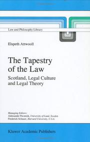 Cover of: The tapestry of the law