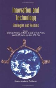 Cover of: Innovation and Technology - Strategies and Policies |