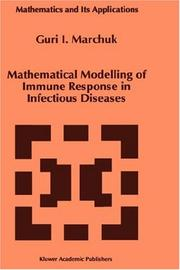 Cover of: Mathematical modelling of immune response in infectious diseases