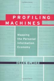 Profiling Machines by Greg Elmer
