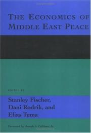 Cover of: The Economics of Middle East Peace |