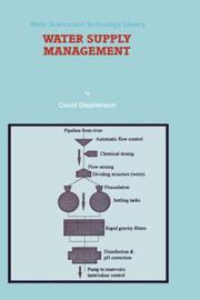Cover of: Water supply management | Stephenson, David