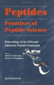 Peptides Frontiers of Peptide Science (American Peptide Symposia)