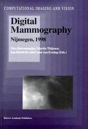 Digital Mammography - Nijmegen, 1998 (Computational Imaging and Vision) by