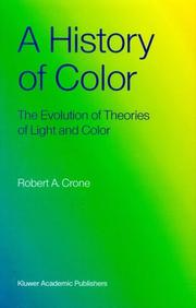 Cover of: history of color | Robert A. Crone