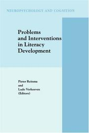 Cover of: Problems and interventions in literacy development