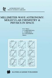 Cover of: Millimeter-Wave Astronomy |