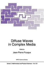 Cover of: Diffuse Waves in Complex Media (NATO Science Series C:) | Jean-Pierre Fouque
