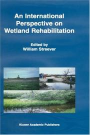 Cover of: An International Perspective on Wetland Rehabilitation | W.J. Streever
