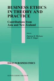 Cover of: Business Ethics in Theory and Practice |