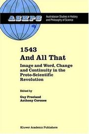 Cover of: 1543 and All That |