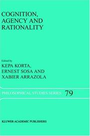 Cover of: Cognition, agency, and rationality