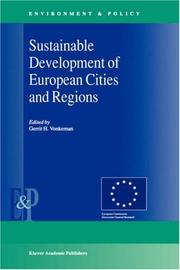 Cover of: Sustainable Development of European Cities and Regions (Environment & Policy Volume 26)