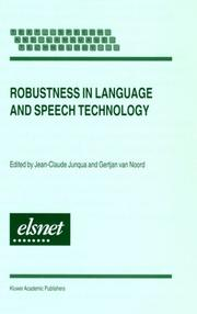 Robustness in Language and Speech Technology (Text, Speech and Language Technology)