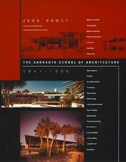 Cover of: The Sarasota school of architecture