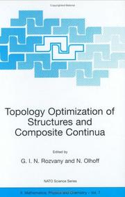 Cover of: Topology Optimization of Structures and Composite Continua (NATO Science Series II: Mathematics, Physics and Chemistry) |