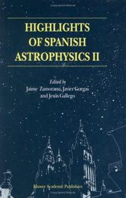 Cover of: Highlights of Spanish astrophysics II