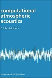 Cover of: Computational Atmospheric Acoustics