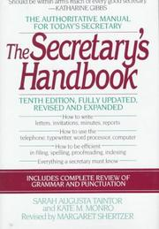The secretary's handbook by Sarah Augusta Taintor