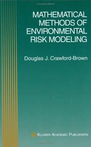 Cover of: Mathematical Methods of Environmental Risk Modeling