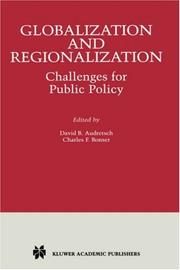 Cover of: Globalization and Regionalization |