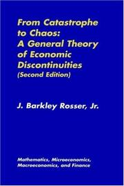 Cover of: From Catastrophe to Chaos: A General Theory of Economic Discontinuities