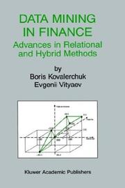 Cover of: Data mining in finance by