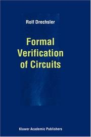 Cover of: Formal Verification of Circuits