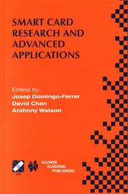 Cover of: Smart Card Research and Advanced Applications (IFIP International Federation for Information Processing) |