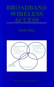 Cover of: Broadband Wireless Access