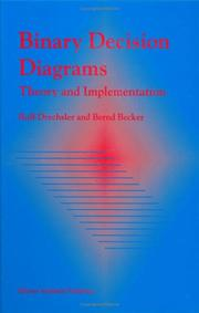 Cover of: Binary decision diagrams