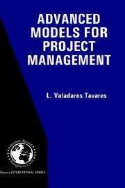 Cover of: Advanced models for project management