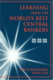 Cover of: Learning from the world's best central bankers
