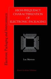 Cover of: High-frequency characterization of electronic packaging