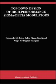 Cover of: Top-down design of high-performance sigma-delta modulators
