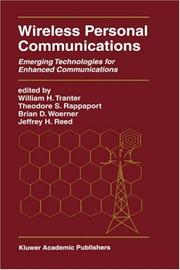 Cover of: Wireless personal communications |
