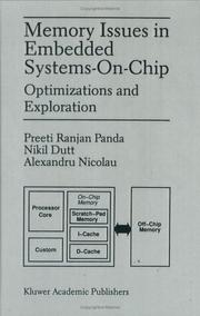 Cover of: Memory issues in embedded systems-on-chip