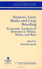 Cover of: Farmers, gene banks and crop breeding |