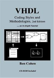 Cover of: VHDL coding styles and methodologies