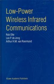 Cover of: Low-power wireless infrared communications