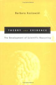Cover of: Theory and evidence